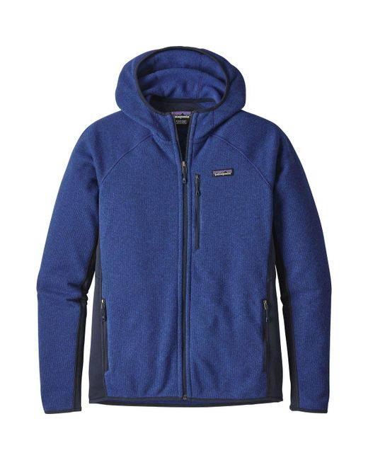 Patagonia | Blue Performance Better Sweater Hooded Fleece Jacket for Men | Lyst
