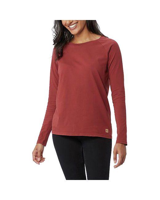 Tentree - Red Plantana Long-sleeve Shirt - Lyst