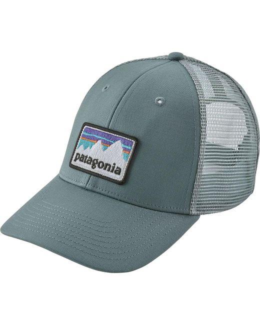96011d947 Men's Blue Shop Sticker Patch Lopro Trucker Hat