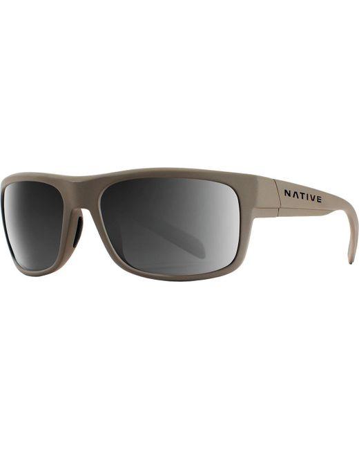 465ff691c5b Lyst - Native Eyewear Ashdown Polarized Sunglasses in Gray for Men