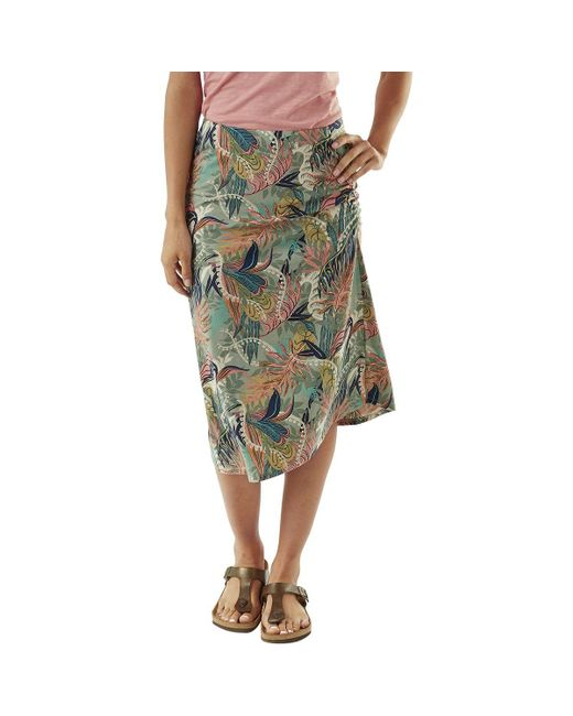 Patagonia - Multicolor Dream Song Skirt - Lyst