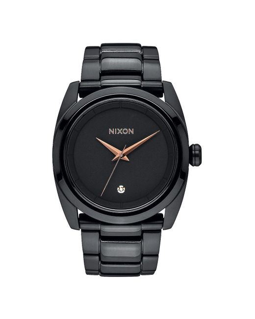 Nixon | Black Queenpin Watch for Men | Lyst
