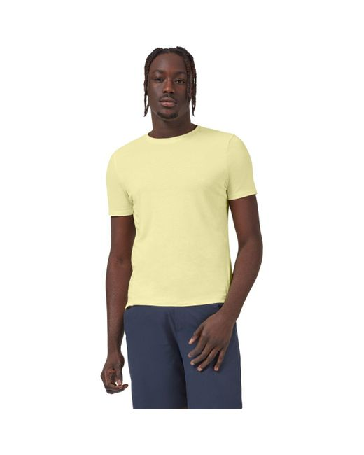 On Yellow Active Short-sleeve T-shirt for men