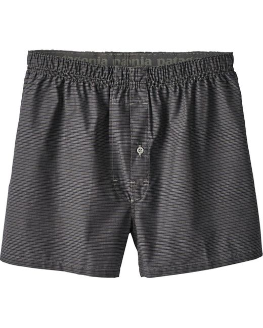 Patagonia | Gray Go-to Boxer for Men | Lyst