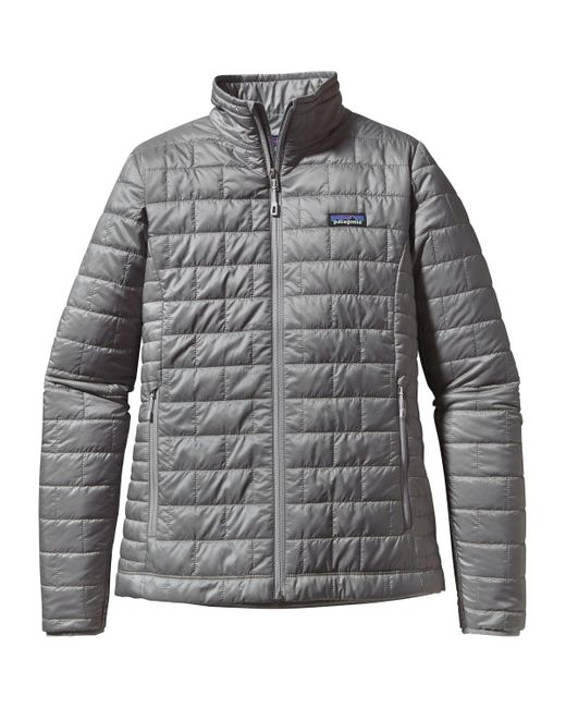 Patagonia | Gray 'nano Puff' Water Resistant Jacket | Lyst