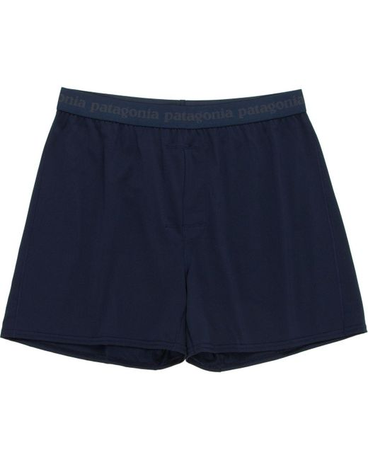 Patagonia | Blue Capilene Daily Boxers for Men | Lyst