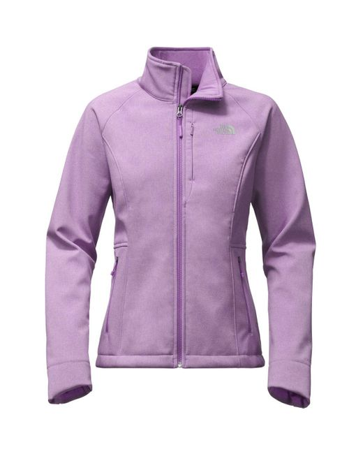 The North Face | Purple Apex Bionic 2 Softshell Jacket | Lyst