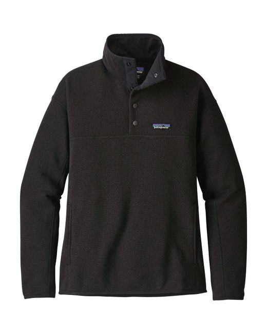 Patagonia - Black Lightweight Better Sweater Marsupial Pullover Jacket - Lyst