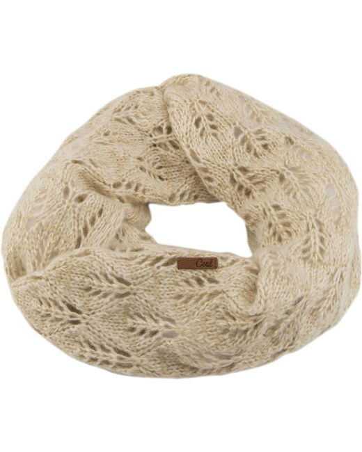 Coal   Natural Madison Scarf   Lyst