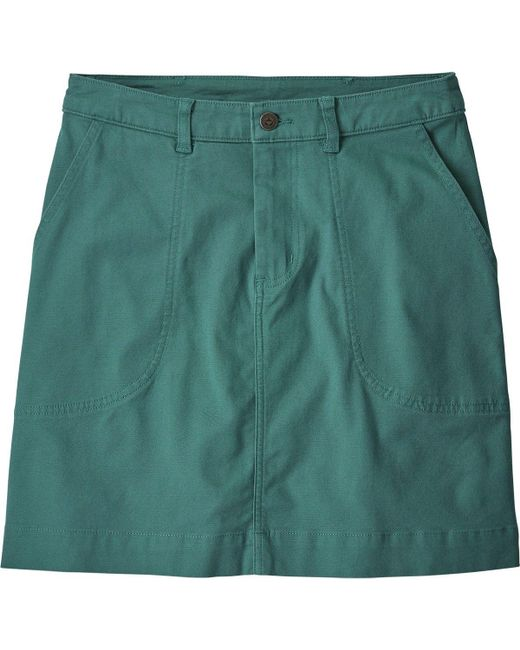 Patagonia - Green Stand Up Skirt - Lyst