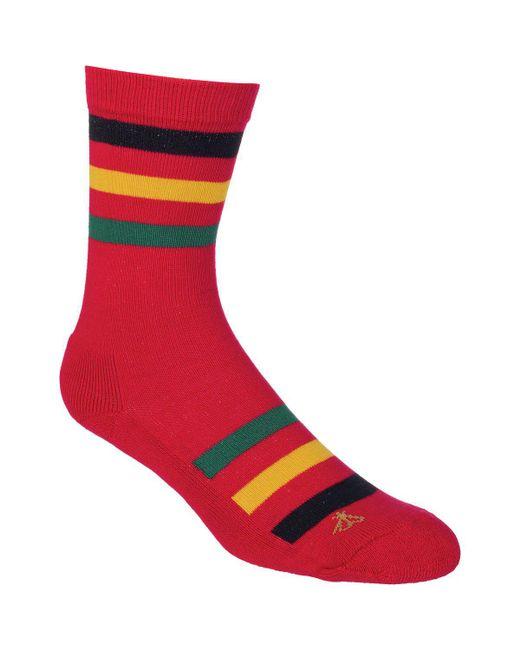 Pendleton - Red National Park Crew Sock for Men - Lyst