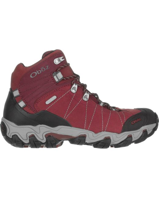 Oboz Red Bridger Mid Bdry Hiking Boot