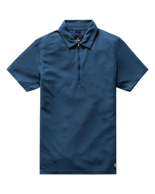 Reigning Champ - Blue Coolmax Pique Polo for Men - Lyst