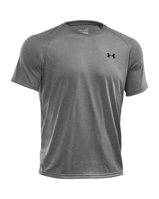 Under Armour | Gray Short-sleeve Tech Tee for Men | Lyst