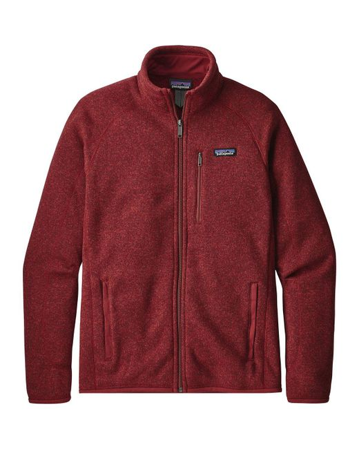 Patagonia Better Sweater® Fleece Jacket Oxide Red for men