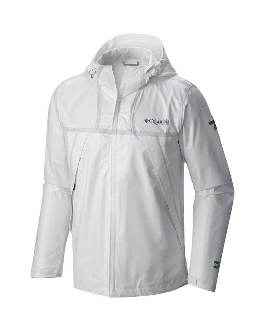 Columbia Multicolor Titanium Outdry Ex Eco Shell Jacket for men