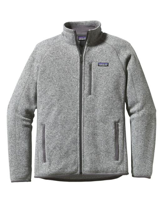 Patagonia Gray Better Sweater Fleece Jacket for men