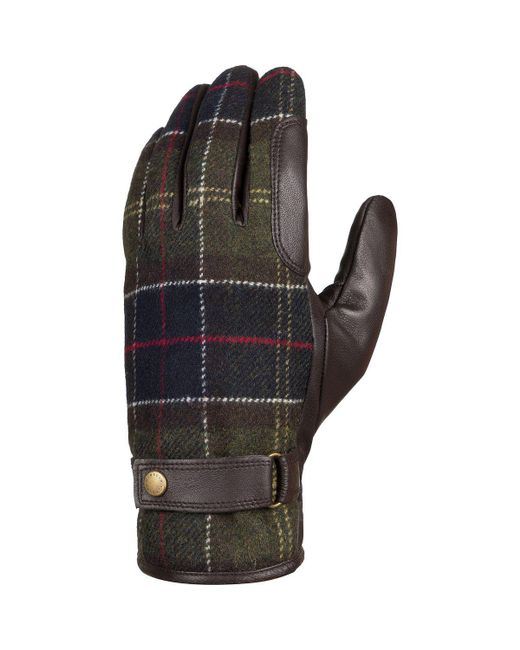Barbour Multicolor Newbrough Tartan Glove