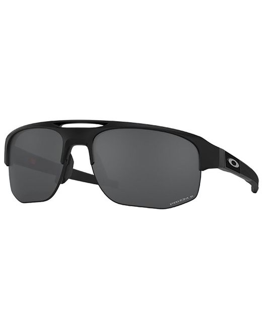 91a2f7d5ae Lyst - Oakley Mercenary Prizm Polarized Sunglasses in Black for Men