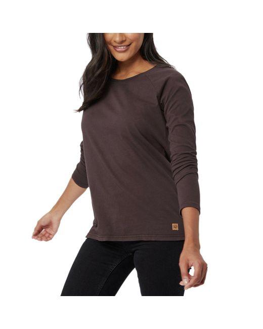 Tentree - Black Plantana Long-sleeve Shirt - Lyst
