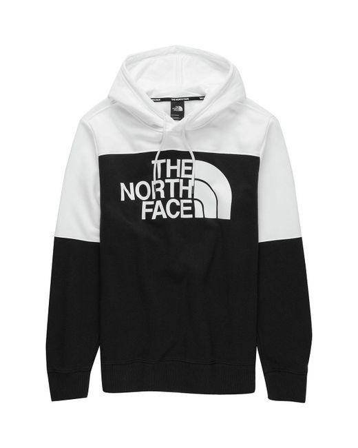 The North Face Black Drew Peak Pullover Hoodie for men