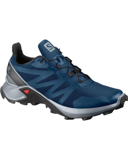 Salomon Blue Supercross Trail Running Shoe for men