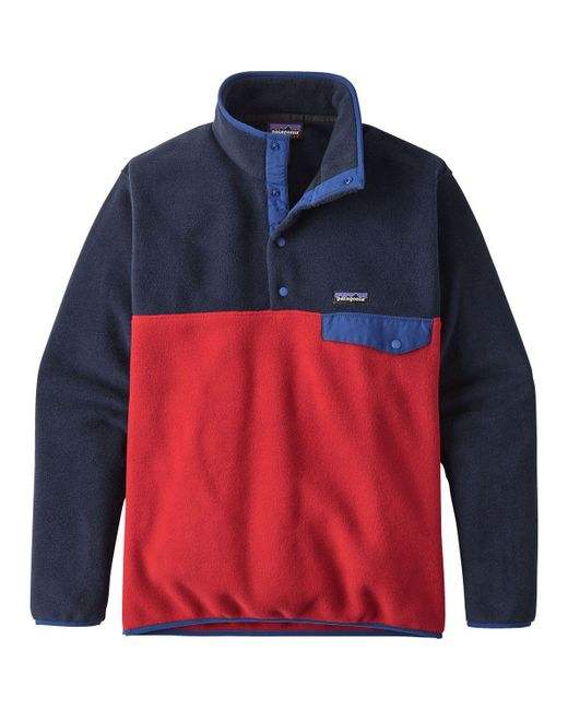 Patagonia Multicolor Lightweight Synchilla Snap-t Fleece Pullover for men