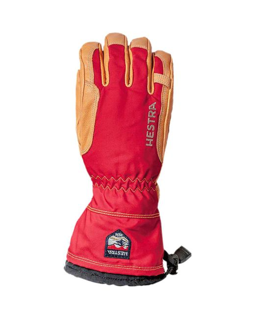 Hestra - Red Narvik Wool Terry Glove for Men - Lyst