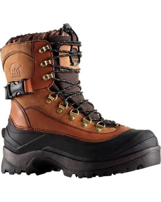 Sorel Brown Conquest Boot for men