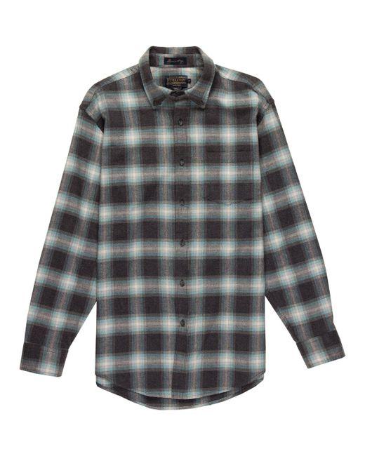 Pendleton   Gray Lister Classic Shirt for Men   Lyst