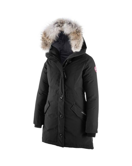 Canada Goose - Black Rossclair Down Parka - Lyst