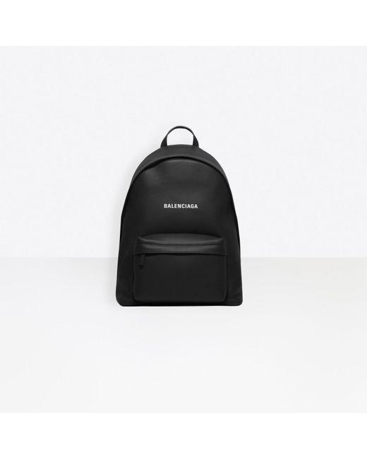 Balenciaga Black Everyday Backpack