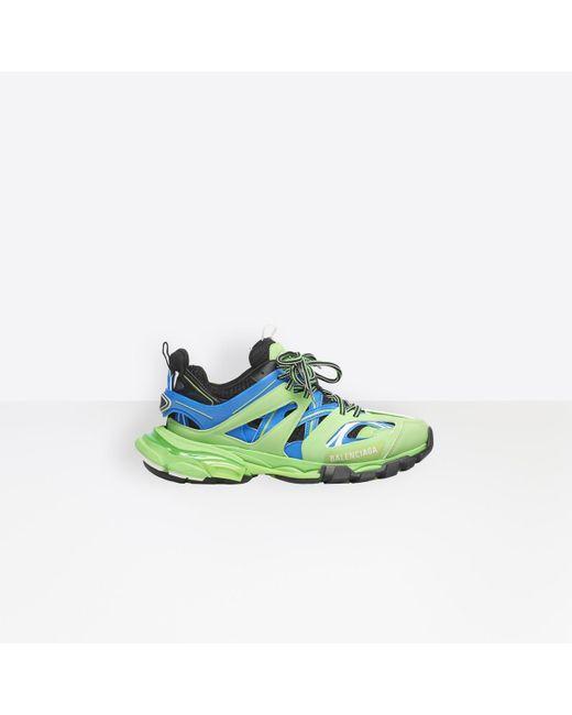 Sneakers Track Balenciaga de color Green