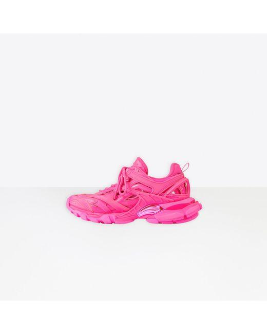 Balenciaga Pink Track.2 Sneaker