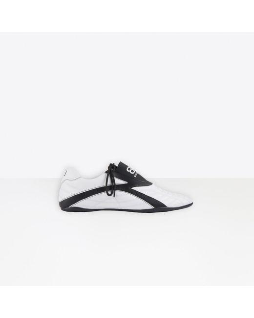Balenciaga White Zen Sneaker for men