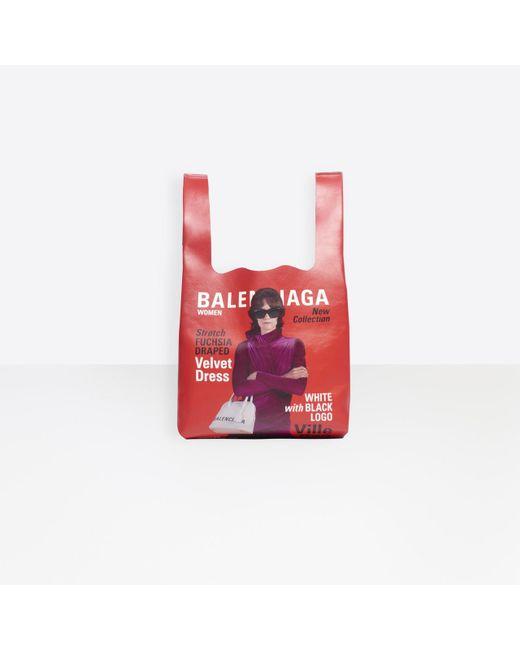 Balenciaga Multicolor Winter 18 Campaign Supermarket Tote M for men