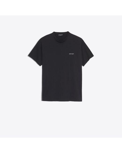 """Tee-Shirt """"®"""" Balenciaga pour homme en coloris Black"""