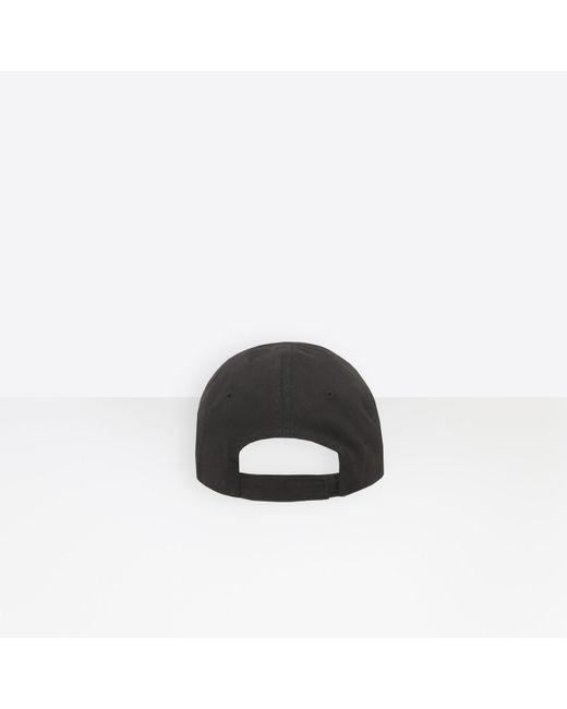 Balenciaga Black Cap