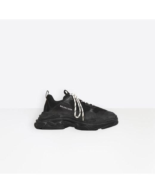 Sneaker Triple S Balenciaga pour homme en coloris Black