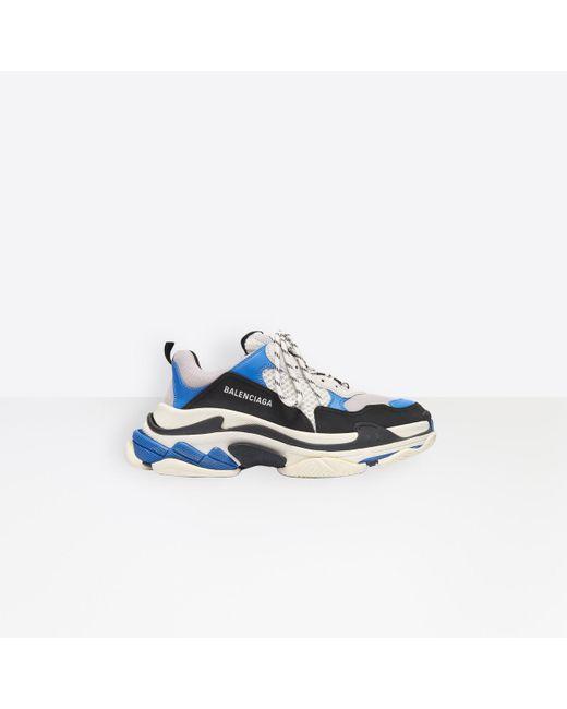 Sneaker Triple S Balenciaga pour homme en coloris Blue