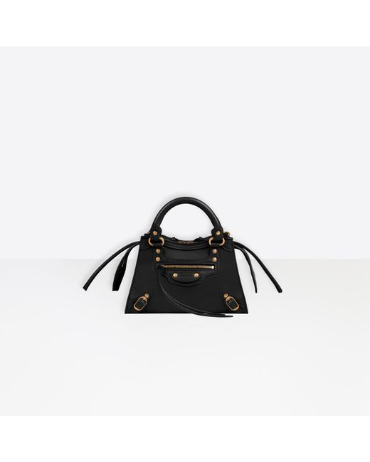 Women's Black Neo Classic Mini Top Handle Bag