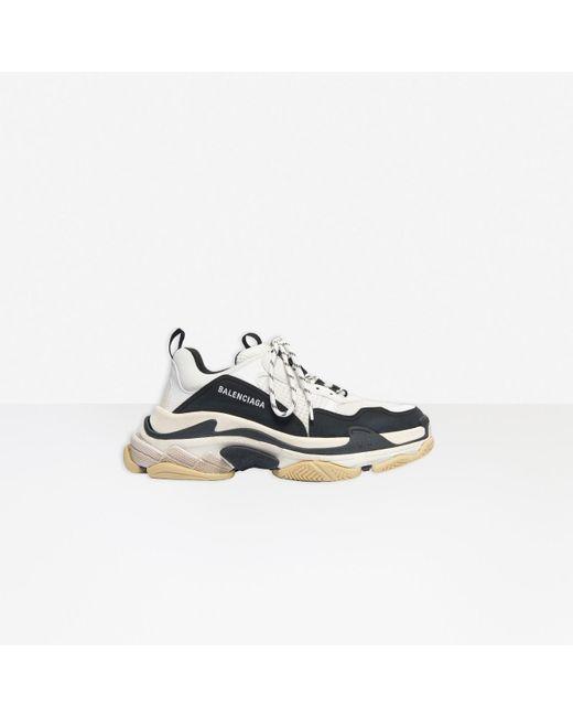 Sneaker Triple S Balenciaga pour homme en coloris White