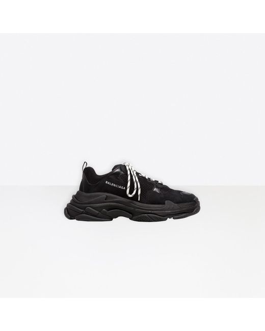 Sneaker Triple S Balenciaga en coloris Black