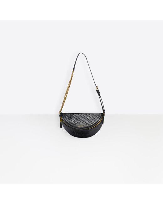Balenciaga Black Souvenirs Xxs Belt Bag