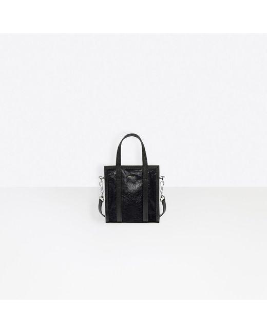 Balenciaga Black Bazar Shopper Xs
