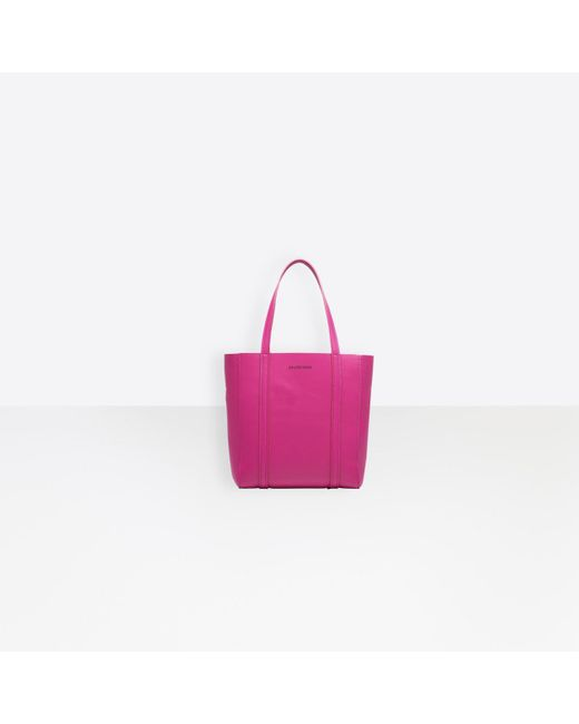 f532d13497aa Balenciaga - Pink Everyday Tote Xs - Lyst ...