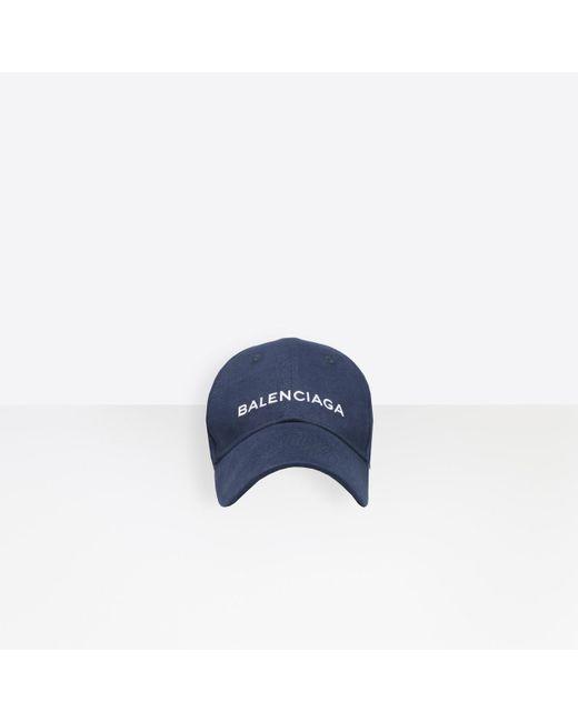 Balenciaga - Blue Gorra for Men - Lyst