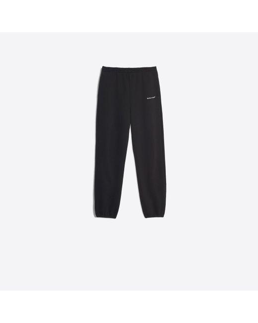 Balenciaga - Black Pantalón a la rodilla deformado for Men - Lyst
