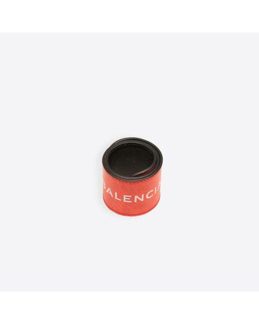 Balenciaga | Red Cycle Bracelet | Lyst