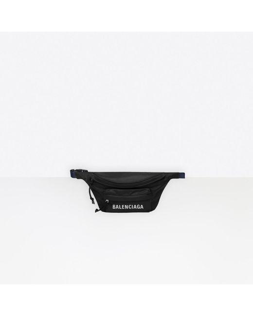 Balenciaga Black Wheel Gürteltasche S